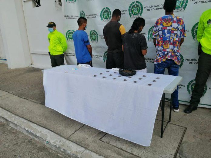 Cárcel para cuatro personas investigadas por tráfico de estupefacientes en Barrancabermeja