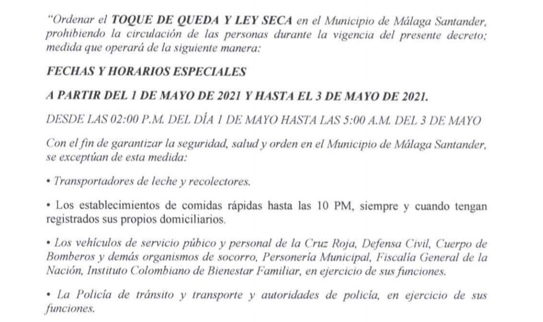 Atención aumentan medidas para el fin de semana en Málaga