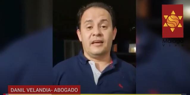 ¡El colmo! Danil Velandia denuncia  la jugada del Fondo Adaptación que deja sin recursos a sectores de la vía Curos Málaga