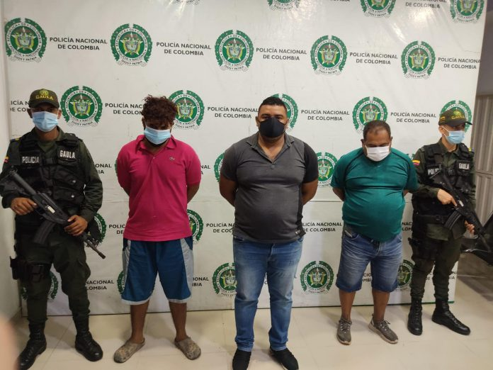 A la cárcel presuntos secuestradores de un joven de 21 años en Santander