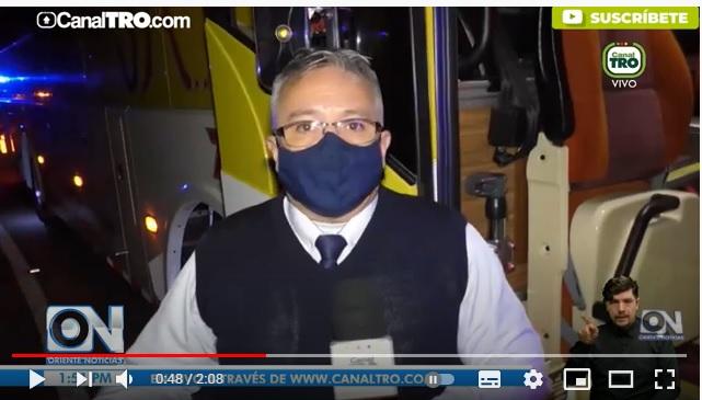 Denuncian nuevo ataque a un bus de Cotrans ¿Dónde fue?