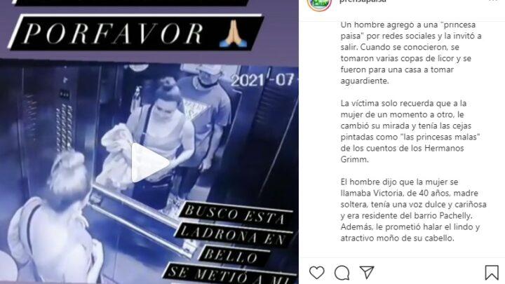 Cuidado con las citas por internet , mire lo que le pasó a este hombre en Colombia