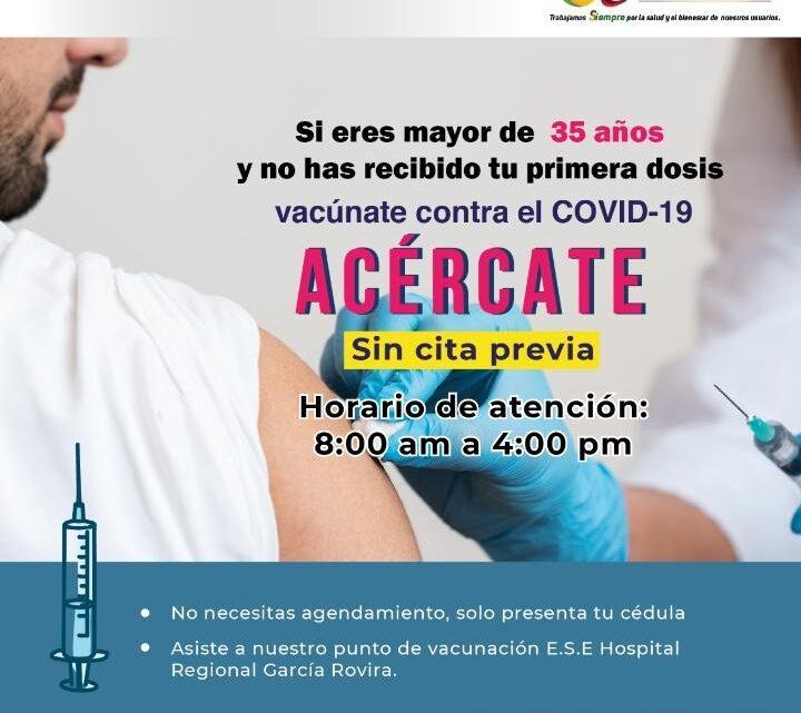 ¿Ya se pueden vacunar en Málaga las personas entre 18 y 39 años?