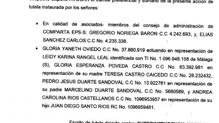 Juez en Málaga ordenó suspensión de la liquidación de Comparta