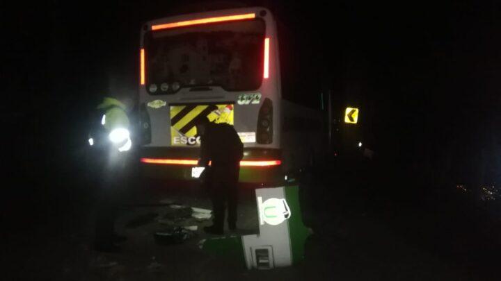 Accidente de un bus en el Km 7 de Málaga a Bucaramanga ¿Qué ocurrió?