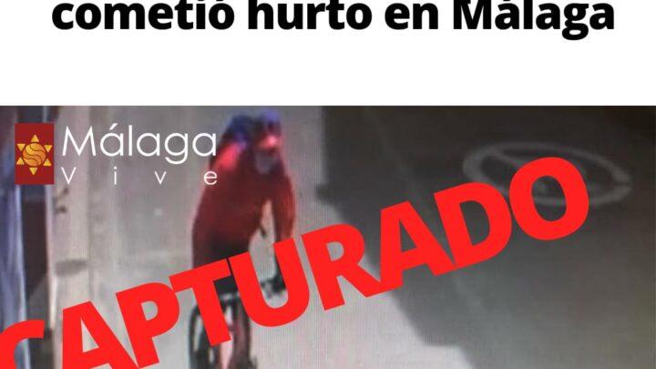 3 cosas que usted no sabía del robo a Claro en Málaga (imágenes)